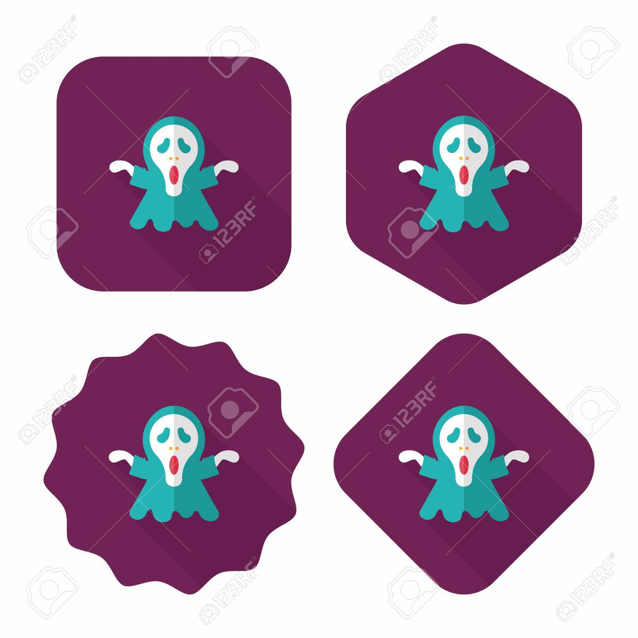 hight resolution of grim reaper flat icon with long shadow stock vector 34493689