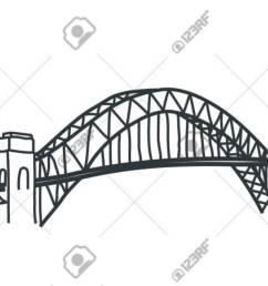 illustration of sydney harbour bridge australia illustration [ 1300 x 919 Pixel ]