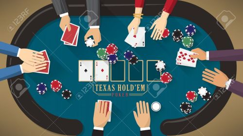small resolution of people playing poker around a poker table with dealer the woman is winning