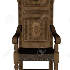 Vintage Wooden Chairs Rocking Chair Replacement Seat Slats 3d Render Stock Photo Picture And Royalty