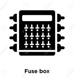 fuse box icon vector isolated on white background logo concept bmw fuse box icons fuse [ 1300 x 1300 Pixel ]
