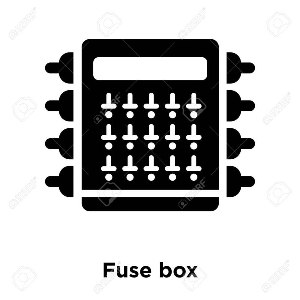 medium resolution of fuse box icon vector isolated on white background logo concept bmw fuse box icons fuse