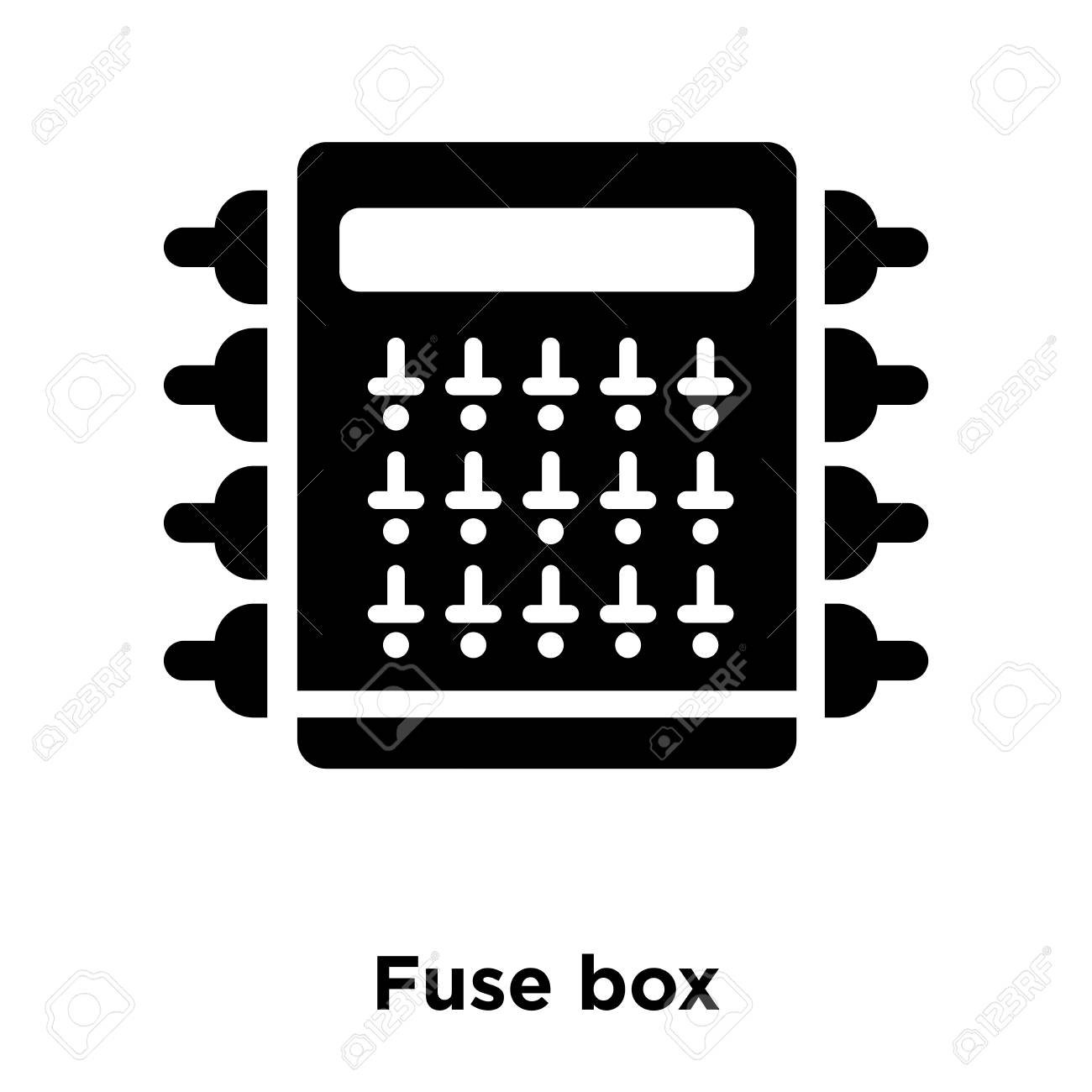 hight resolution of fuse box icon vector isolated on white background logo concept bmw fuse box icons fuse