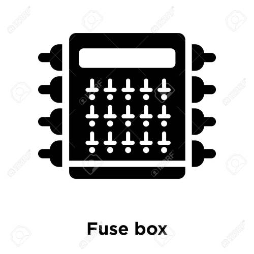 small resolution of fuse box icon vector isolated on white background logo concept bmw fuse box icons fuse