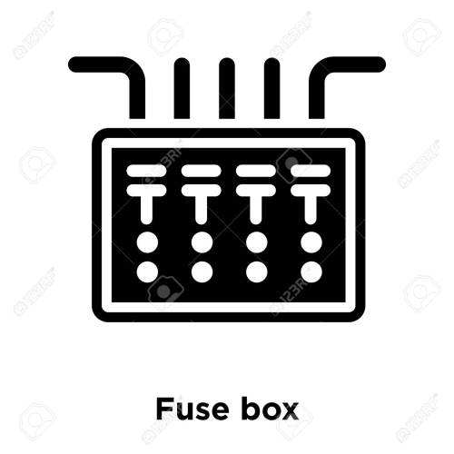 small resolution of office fuse box wiring diagram centre fuse box icon vector isolated on white background logo