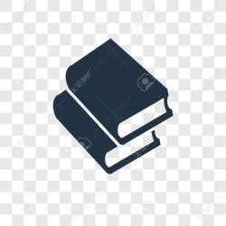 Book Vector Icon Isolated On Transparent Background Book Transparency Royalty Free Cliparts Vectors And Stock Illustration Image 112445381