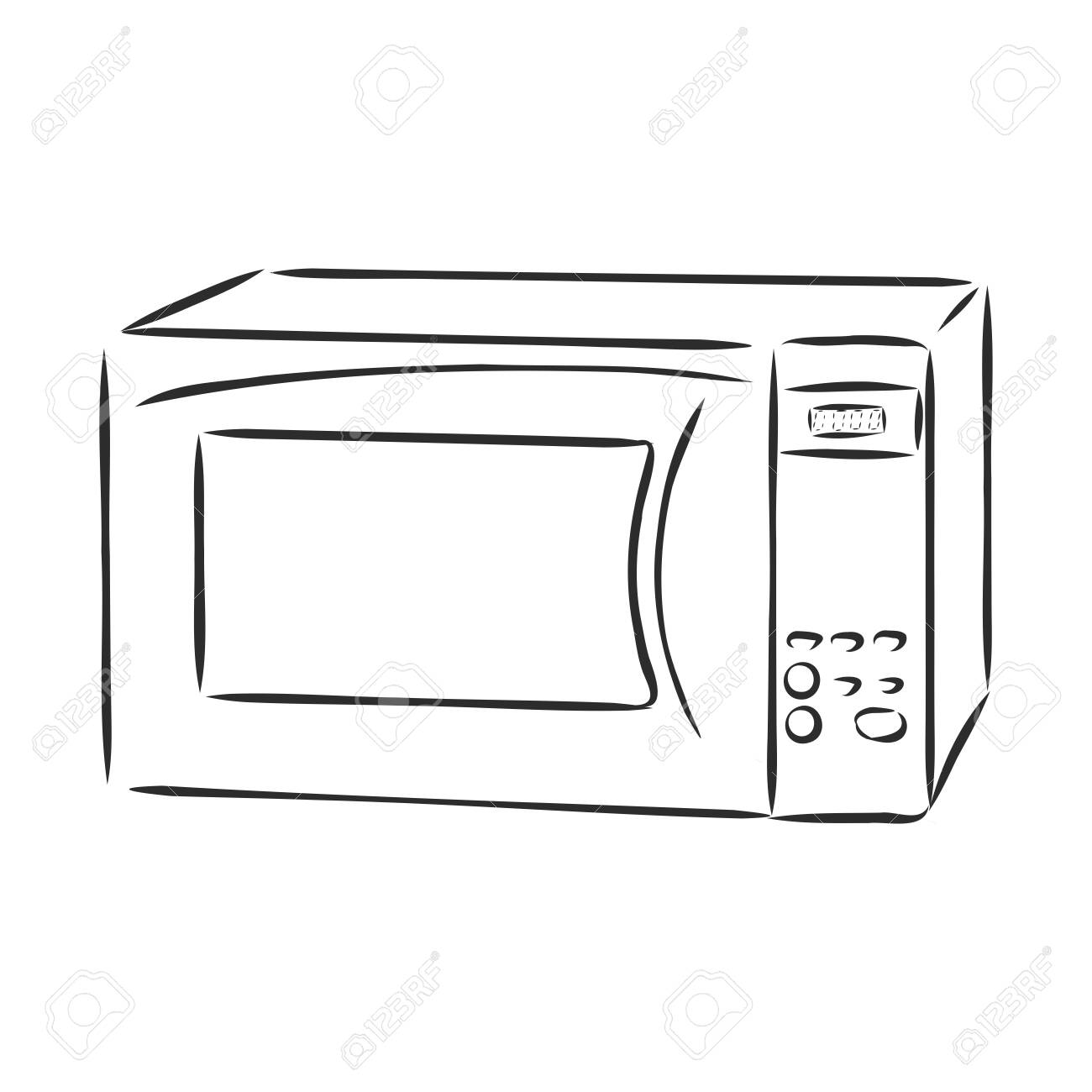 microwave oven kitchen appliances cooking and heating food