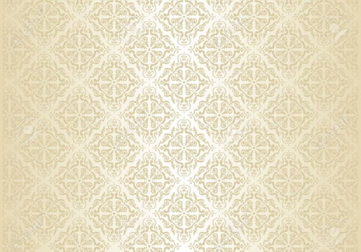 Bright Wedding Vintage Wallpaper Background Royalty Free Cliparts