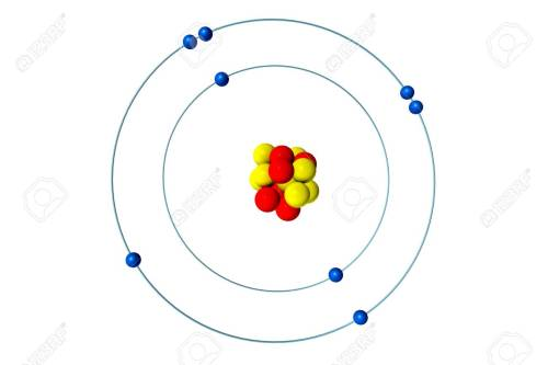 small resolution of oxygen atom with proton neutron and electron 3d bohr model stock rh 123rf com sulfur protons