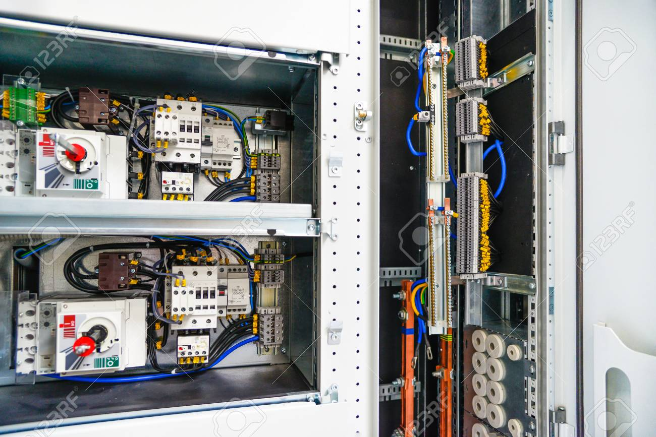 hight resolution of low voltage cabinet for power and distribution electricity uninterrupted electrical voltage stock
