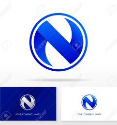 letter n logo design business vector sign business card templates  [ 1300 x 1300 Pixel ]