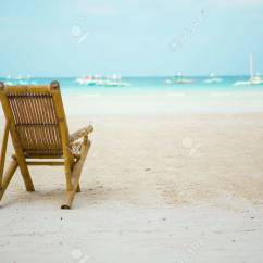Perfect Beach Chairs Eddie Bauer High Chair Price On Tropical White Sand With Turquoise Water In Boracay Philippines Stock