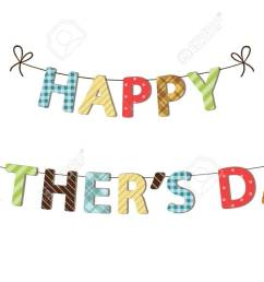 cute festive fathers day banner stock vector 77437776 [ 1300 x 755 Pixel ]