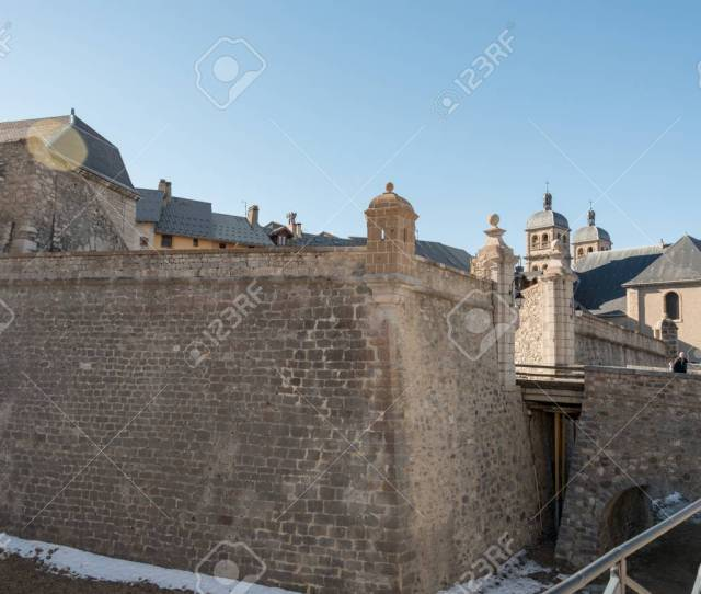 Fortified Walls Of Briancon In Hautes Alpes France Stock Photo 92184938