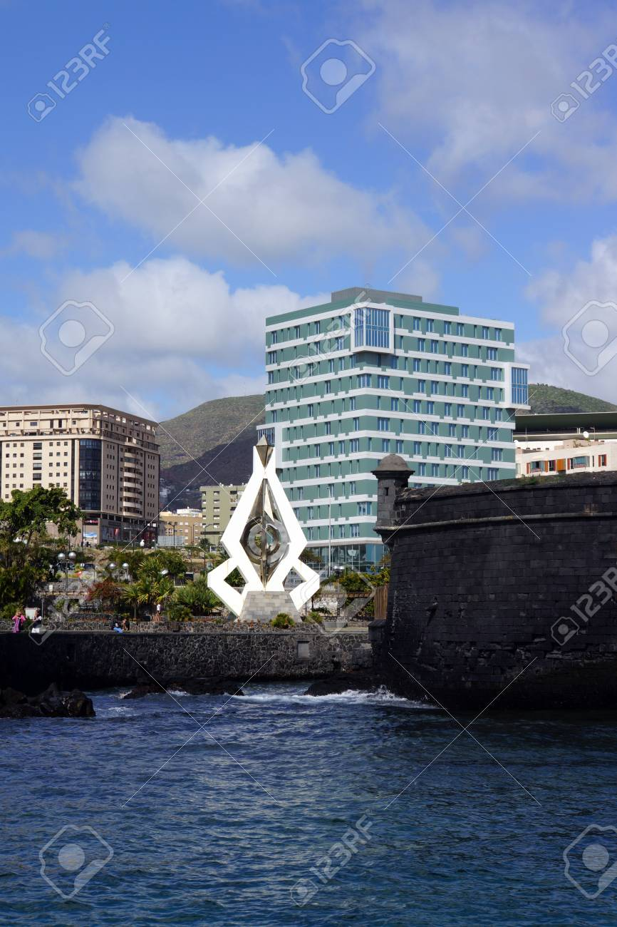 Sculpture Of Csar Manrique Santa Cruz De Tenerife Tenerife