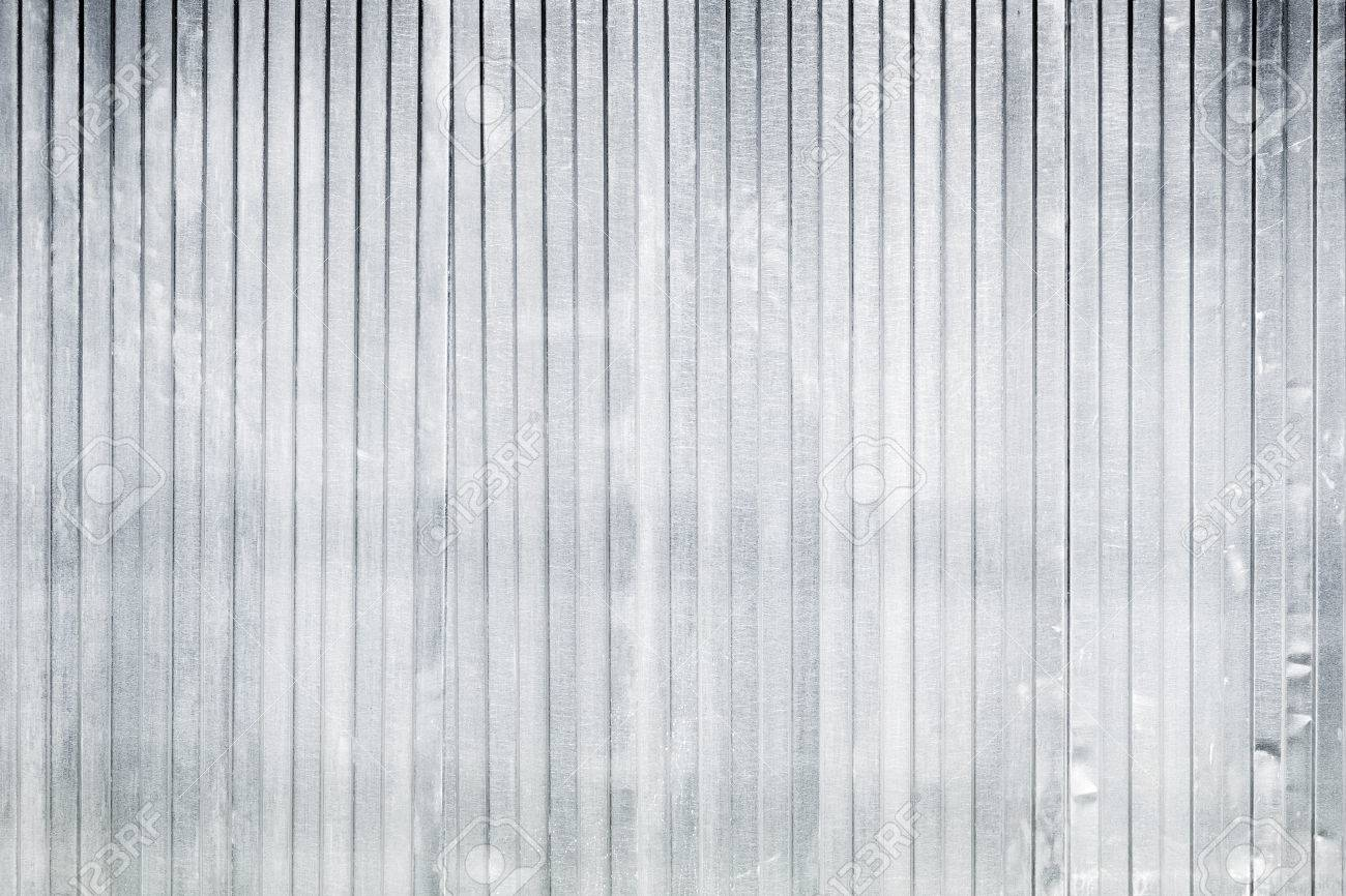 new corrugated metal fence