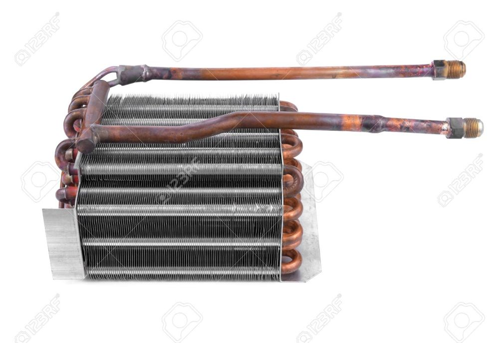 medium resolution of car condenser radiator isolated on white background radiator top view of radiator for pick