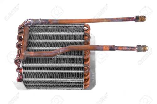 small resolution of car condenser radiator isolated on white background radiator top view of radiator for pick