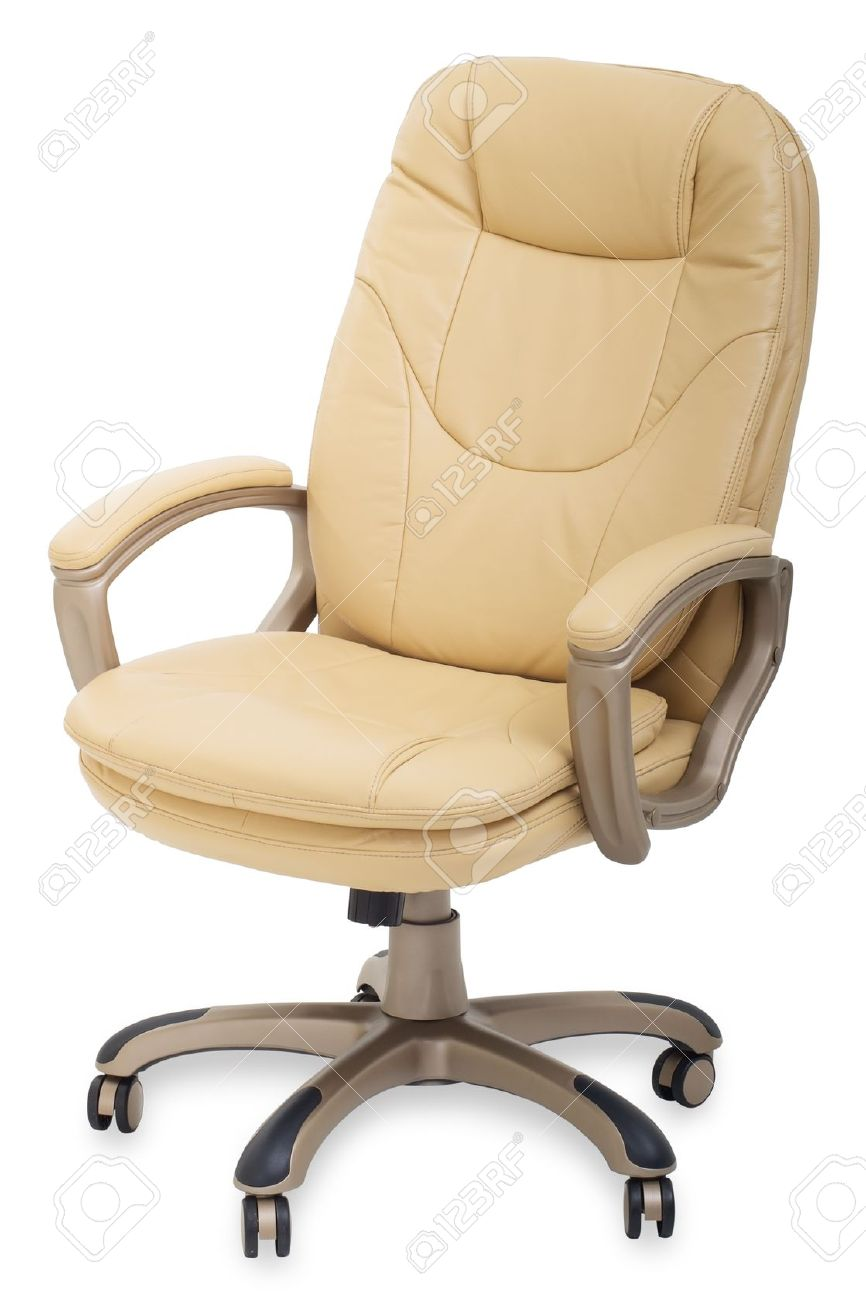 chair on wheels folding sale new leather office stock photo picture and royalty 11839349