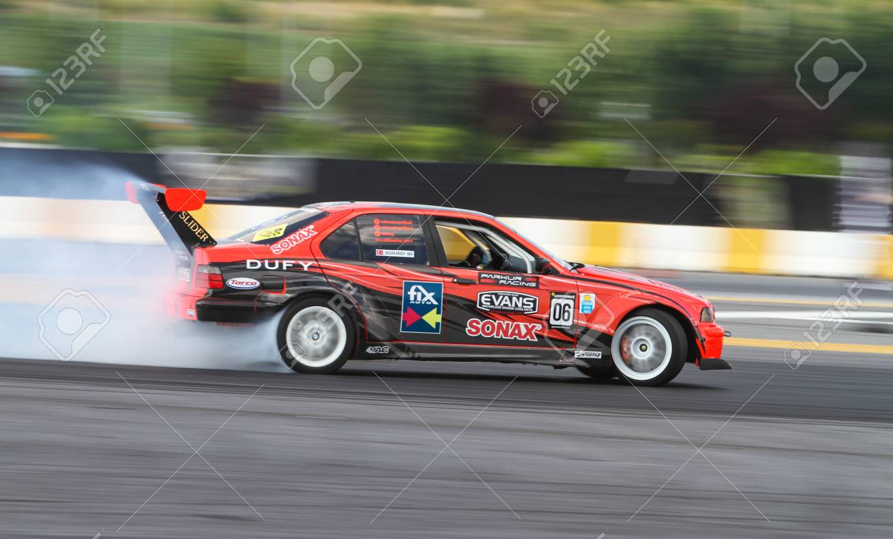 hight resolution of istanbul turkey july 29 2017 volkan arisoy drives bmw e36 325 of