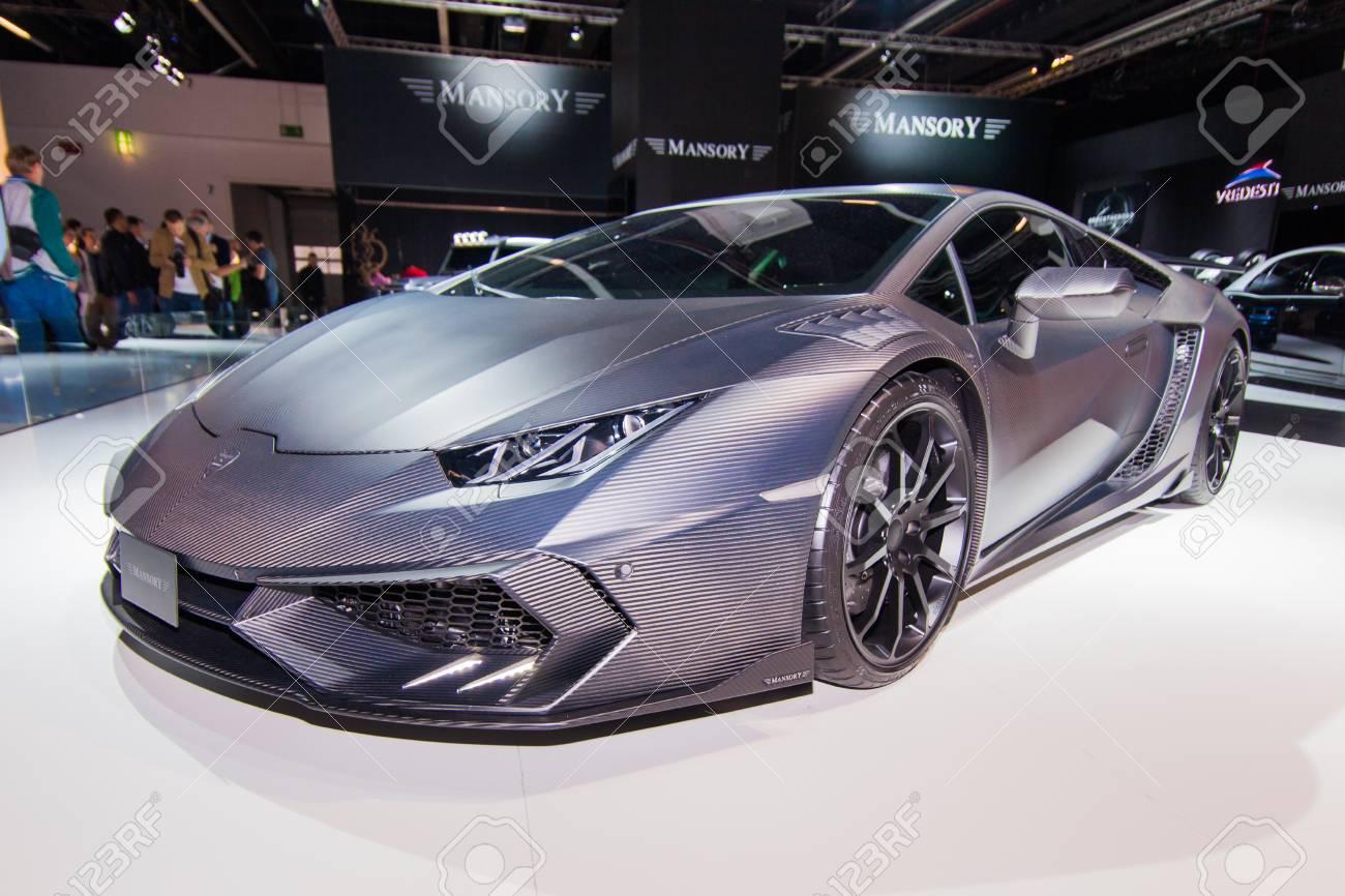 Frankfurt September23 Mansory Carbonado Black Diamond Lamborghini