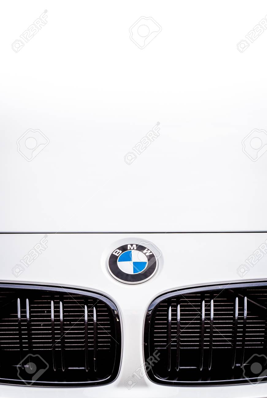 Bmw M4 Logo : Vallelunga,, Italy, September, 2017., Touring, Sport, Car.., Stock, Photo,, Picture, Royalty, Image., Image, 87087877.