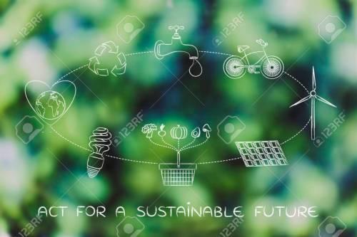 small resolution of agir pour un avenir durable diagramme avec des tapes quotidiennes pour prot ger l environnement
