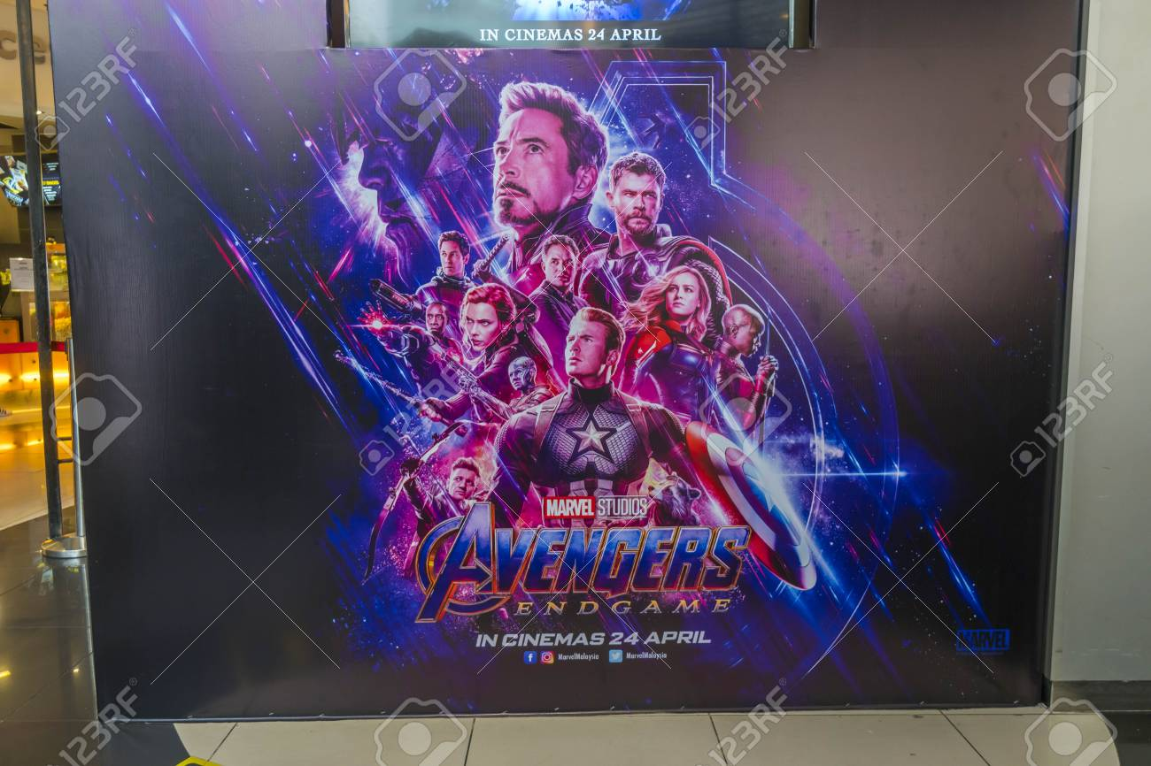 https www 123rf com photo 121228224 kuala lumpur malaysia april 19 2019 the avengers endgame movie poster is a 2019 american superhero f html