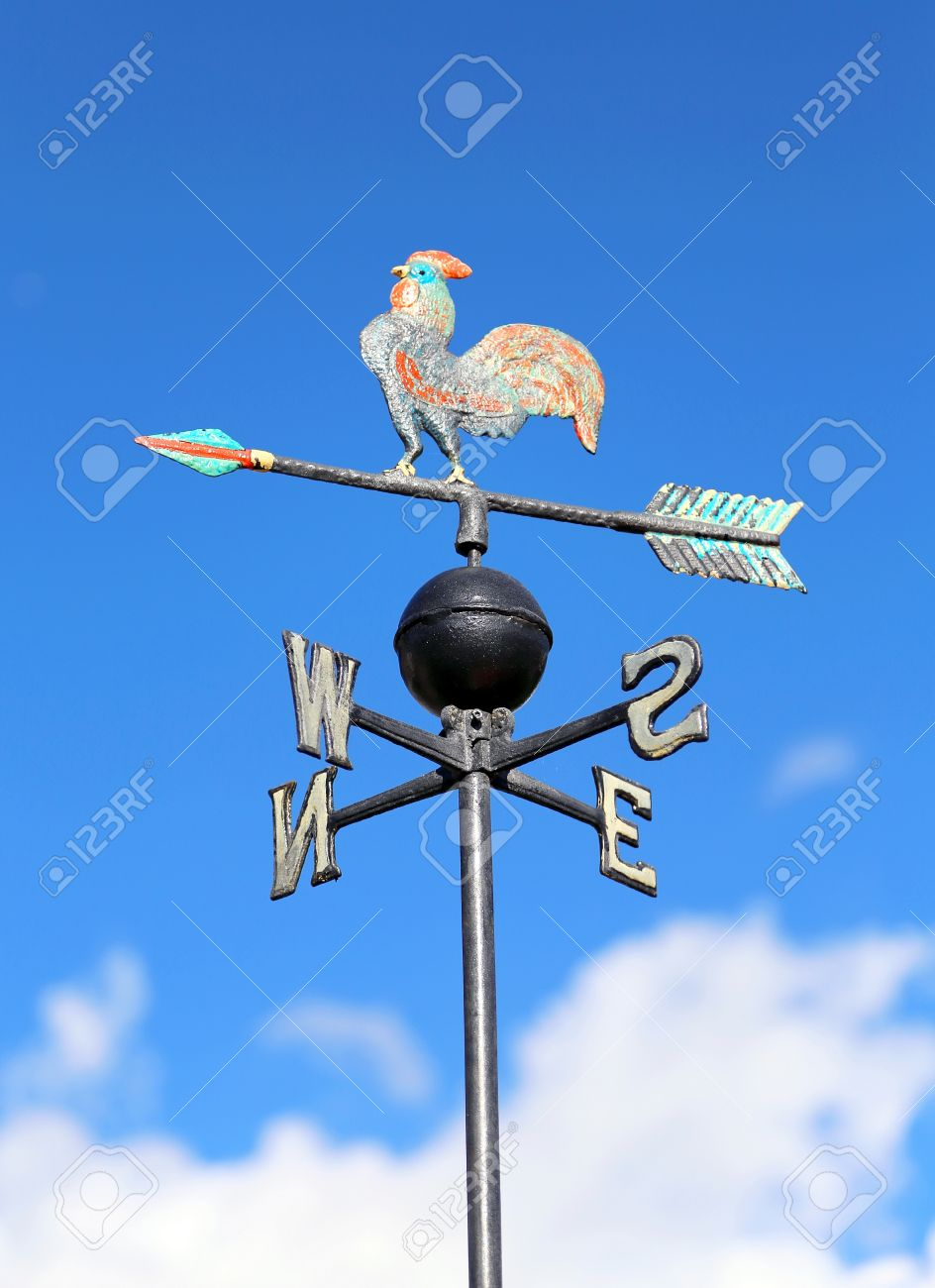vintage wind vane for