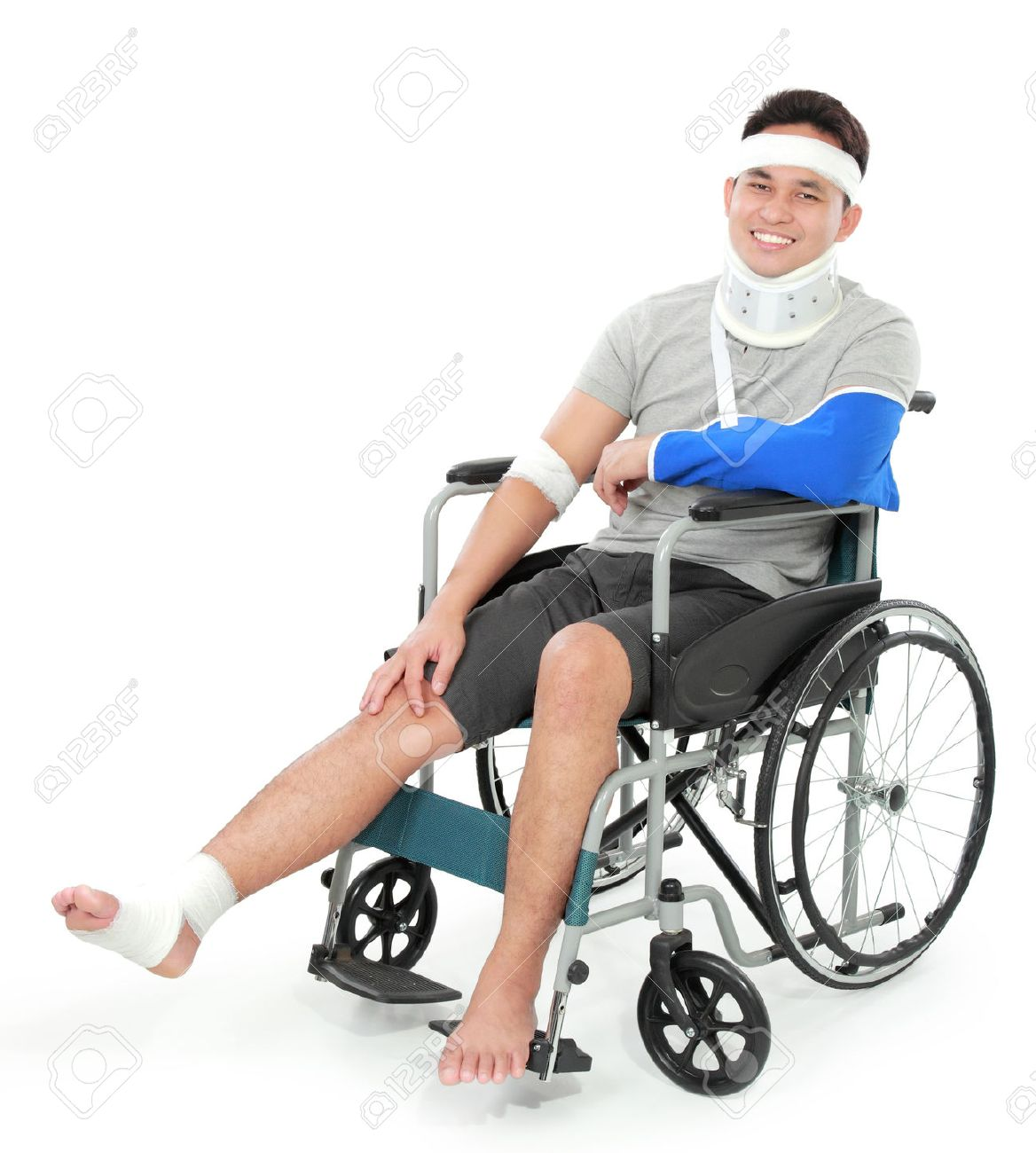 wheelchair man ergonomic drafting chair with arms portrait of injured young in stock photo picture and 36078758
