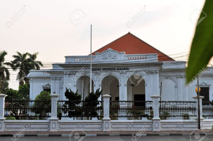 Gedung Kesenian Building Dutch Colonial Architecture Of In Government Stock Photo Picture And Royalty Free Image Image 37323861