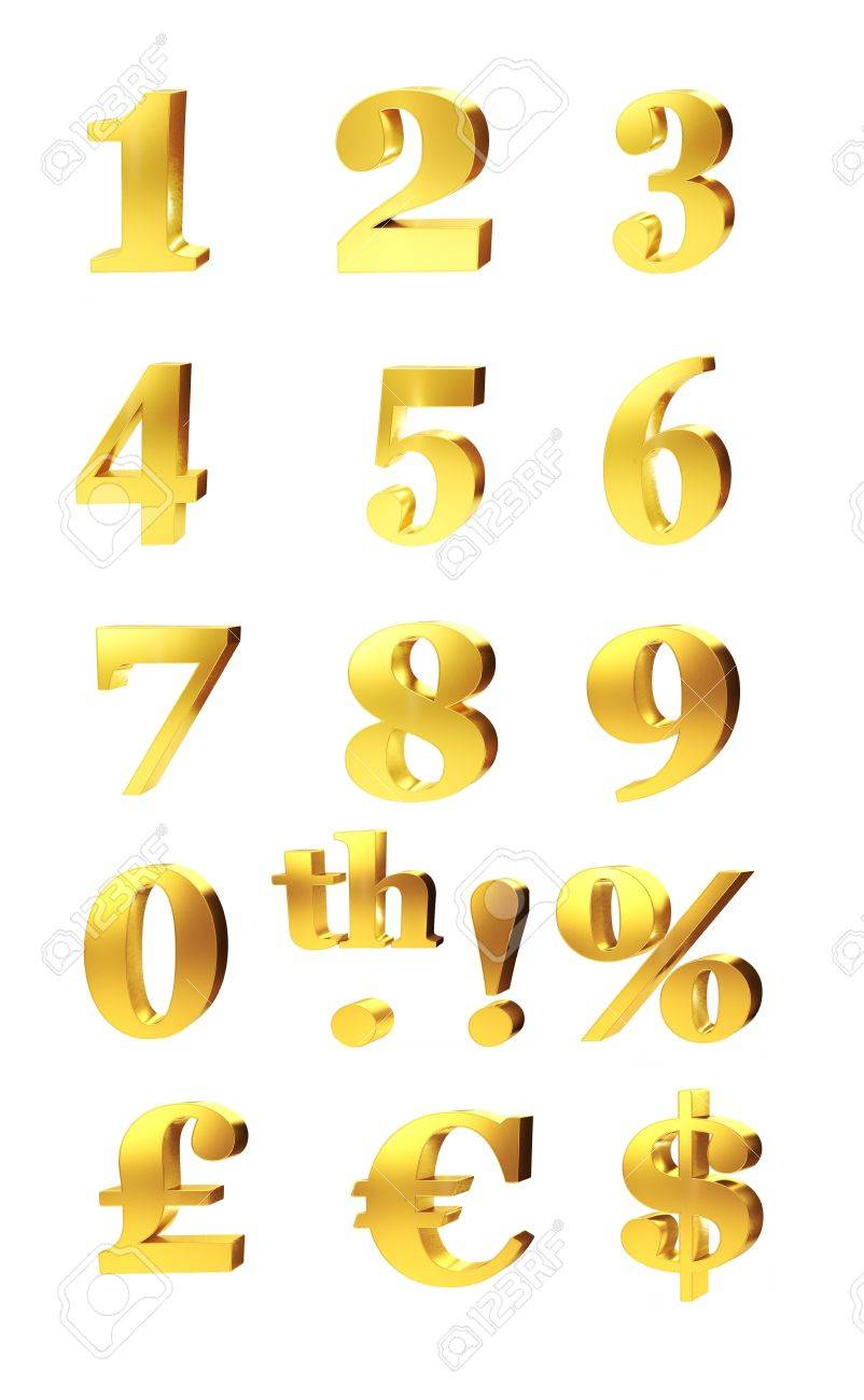 Gold Percentage : percentage, Numerals,, Percentage, Currency, Symbols, For.., Stock, Photo,, Picture, Royalty, Image., Image, 12301267.