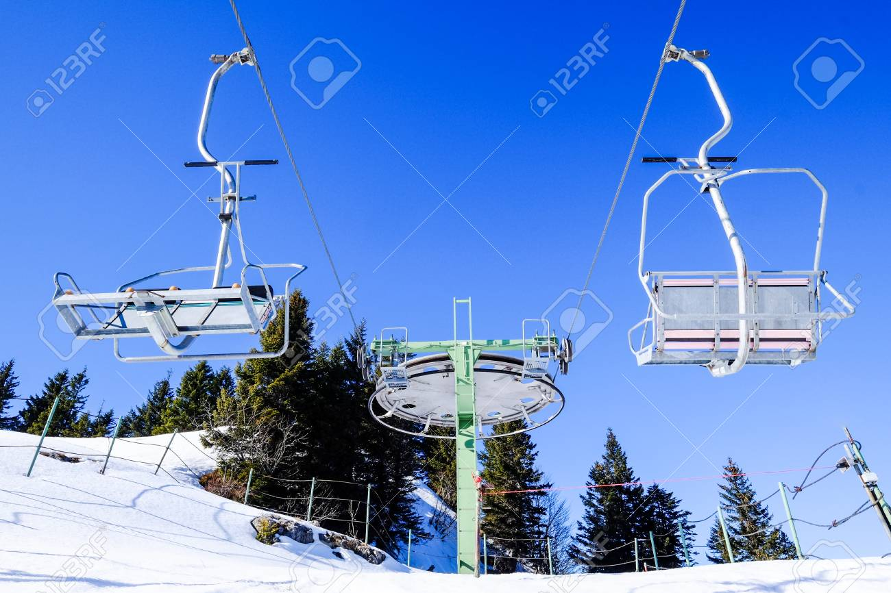 buy ski lift chair leg extenders mountains with modern chairs stock photo picture and 74358137
