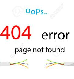 service message on the site error 404 page not found illustration of a [ 1300 x 731 Pixel ]