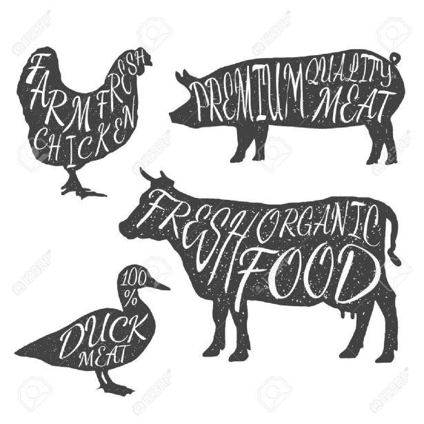 Image result for clipart beef pork