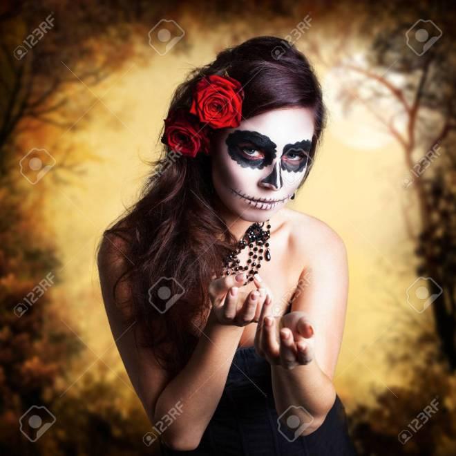 Resultado de imagen para maquillaje calavera imagenes libres