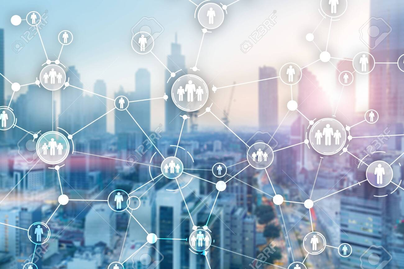 Network Team Group Connected People Corporate Business Wallpaper Stock Photo Picture And Royalty Free Image Image 128709226