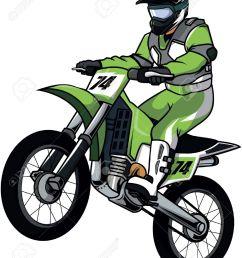 motor cross illustration design [ 1071 x 1300 Pixel ]