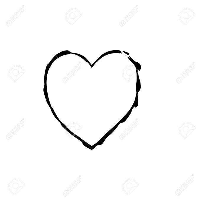Black Love Heart Picture Frames Siewalls