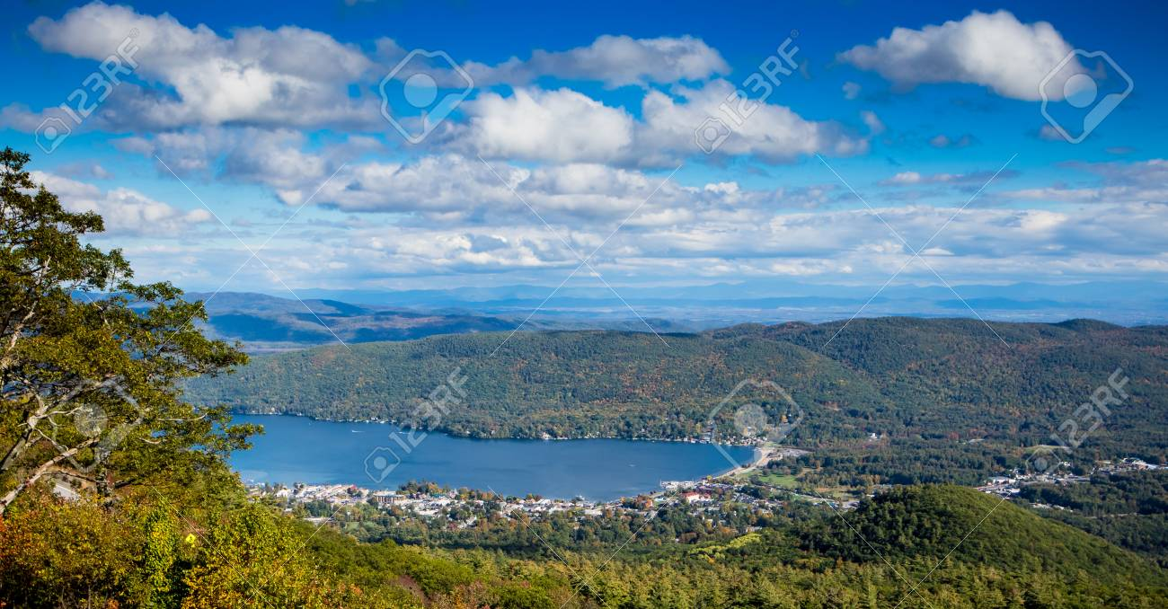 Prospect mountain · 75 smith st. View Of Lake George From Prospect Mountain In New York Stock Photo Picture And Royalty Free Image Image 108839662