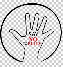sign no bully at transparent effect background stock photo [ 1300 x 1297 Pixel ]