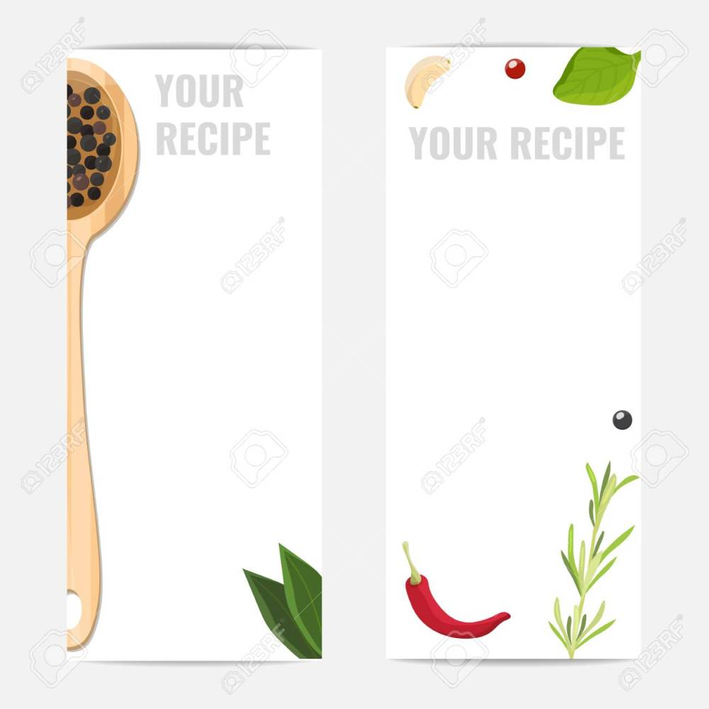 medium resolution of background layout for recipes menu banners for cooking studio cooking school home