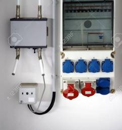 a fuse box and electrical distribution box with various sockets stock photo 88204327 [ 866 x 1300 Pixel ]
