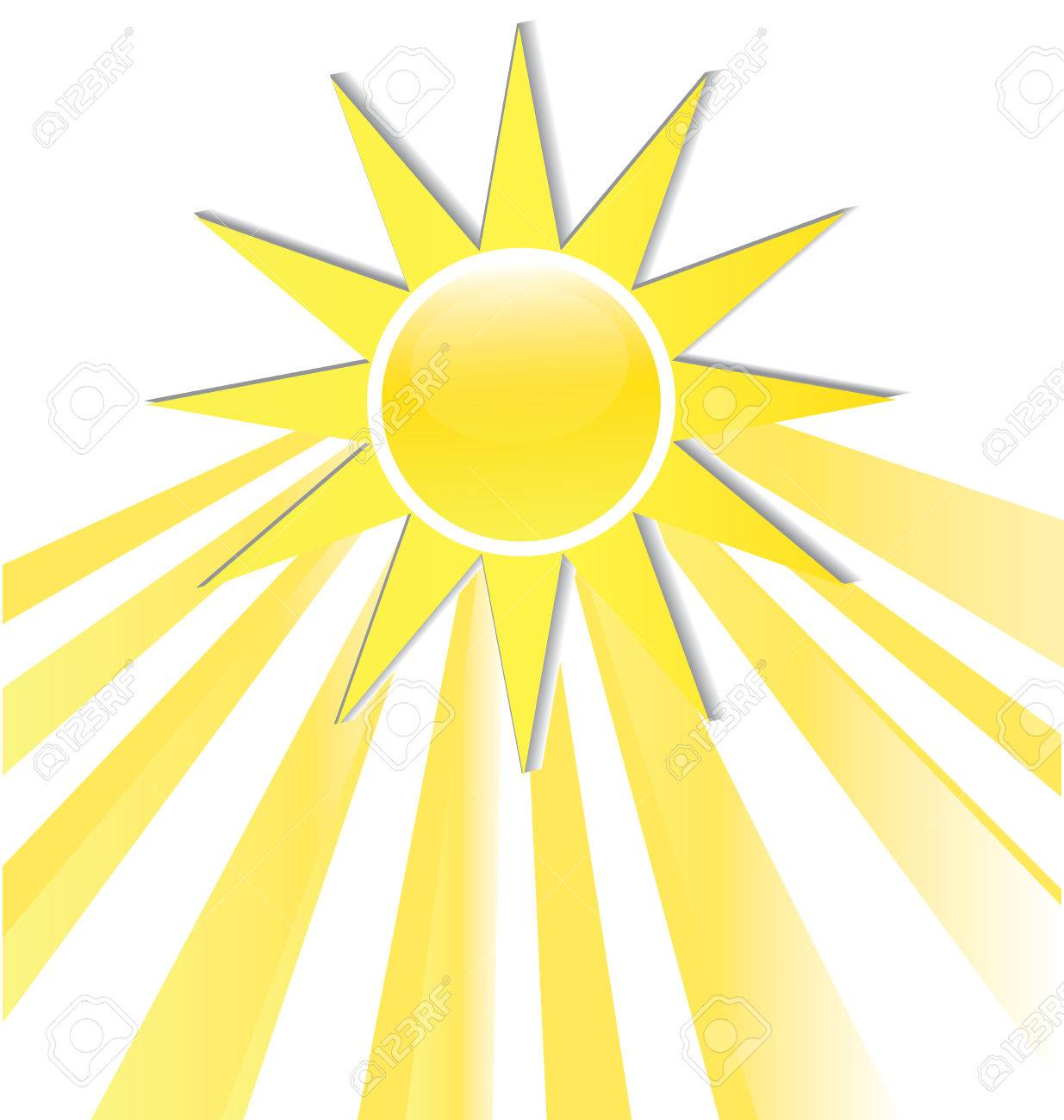 hight resolution of sun rays icon logo stock vector 74478974