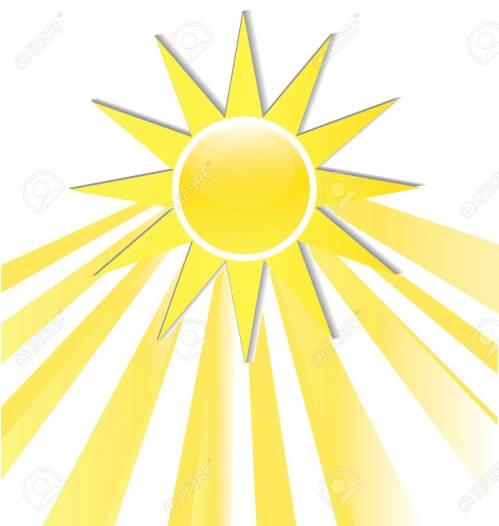 small resolution of sun rays icon logo stock vector 74478974