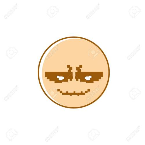 small resolution of smiling cartoon face positive people emotion icon vector illustration stock vector 79721220
