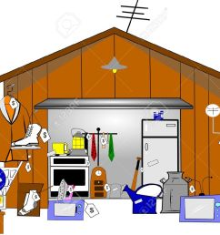 garage sale stock vector 15255318 [ 1300 x 984 Pixel ]