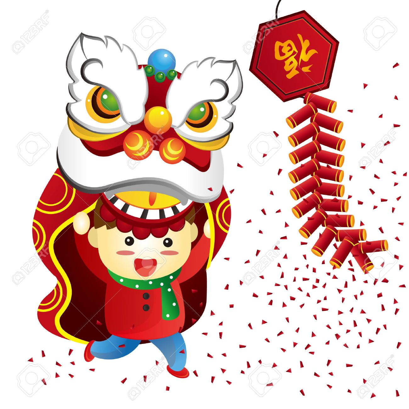 hight resolution of chinese new year stock vector 32283496