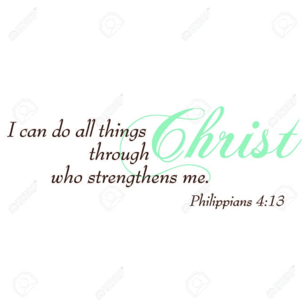 medium resolution of philippians 4 13 inspirational scripture typography stock vector 43011747