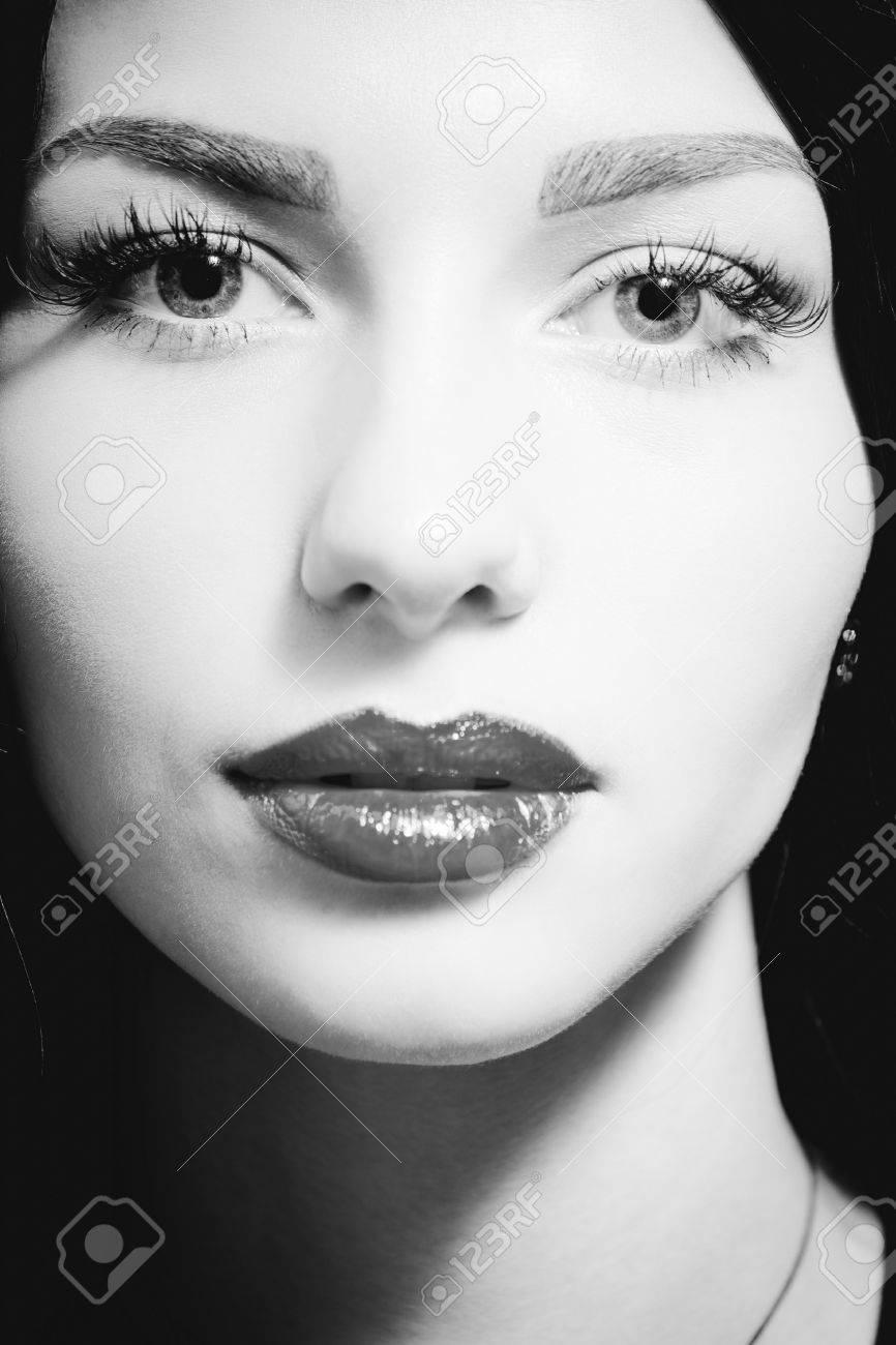 Visage Femme Noir Et Blanc : visage, femme, blanc, Darth, Blog:, Photos, Visage, Femme, Blanc